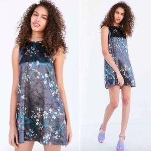 Urban Outfitters Kimchi Blue Satin Slip Dress XS